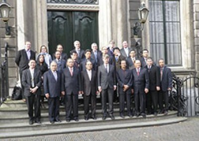 President of the Indonesian Supreme Court visits his Dutch counterpart