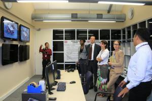 KERIS simulation room at JCLEC