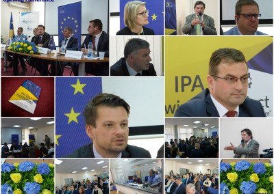 Opening conference at Kosovo Judicial Institute