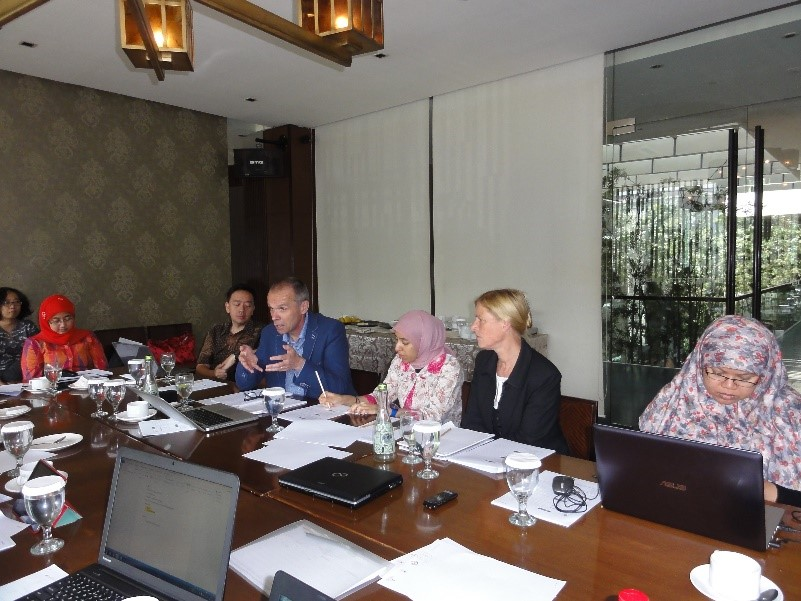 Presentation and discussion of the preliminary findings and recommendations