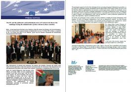Press notice on regional seminar administrative law