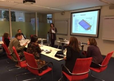 Team meeting at SSR in Utrecht