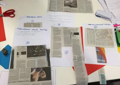 Organising information for fast retrieval
