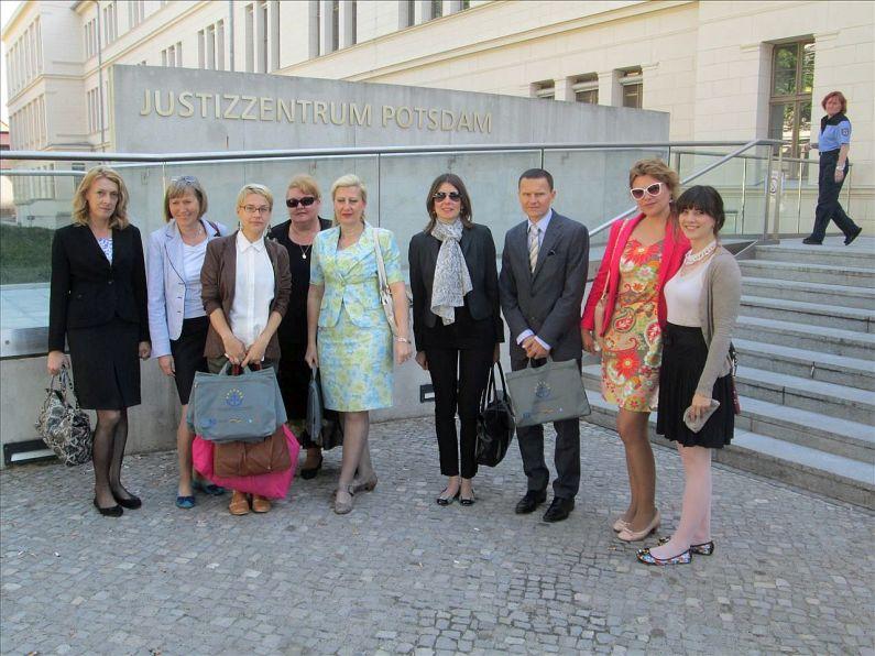 Walentich study visit in Potsdam